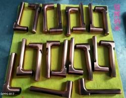 铜材拉手表面防指纹油