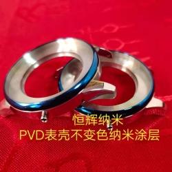 PVD不变色高透明纳米涂层